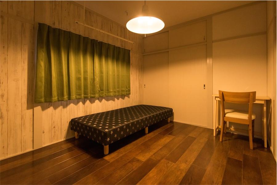 10.8m²+収納(大)+専用ベランダ:34,000円