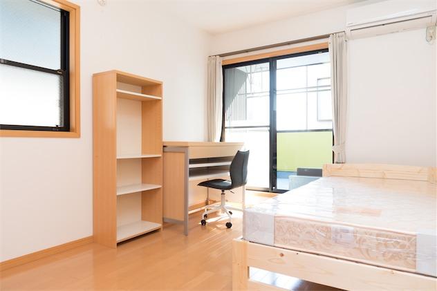 room3:10.2m²+ ウォークインクローゼット(1.8m²)