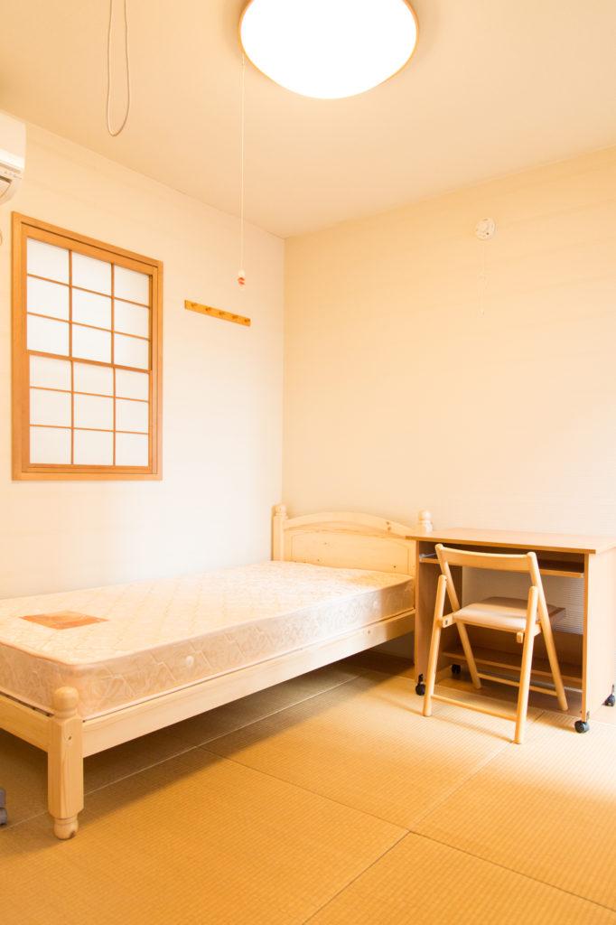 room5:8.1m² (小さめのお部屋ですが家賃も30000円!!)