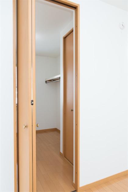 room1 広々のウォークインクローゼット