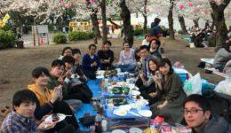 3月21日(祝) M&Mハウス合同お花見開催