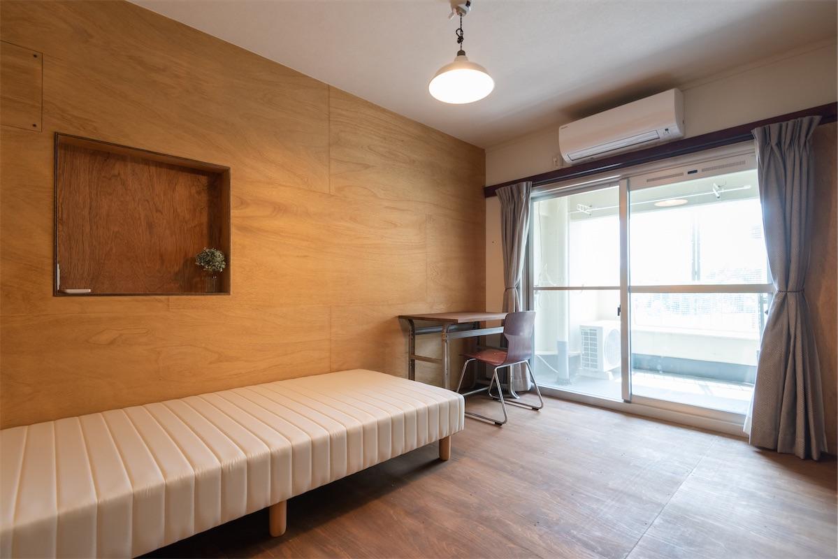 10.8m²+収納1.8m²+ベランダ:家賃36,000円(キャンペーン33,000円)